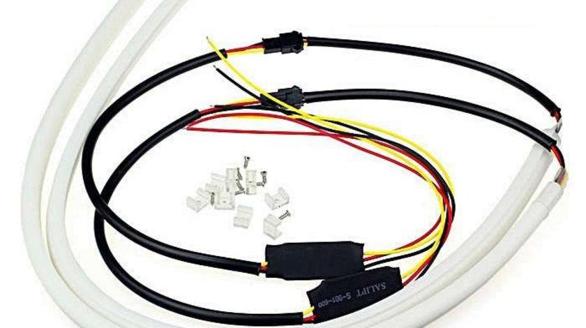 Lumini de zi cu semnalizare tip Tub Neon Flexibil, 60 cm Lumini de zi cu semnalizare tip Tub Neon Flexibil 60 cm