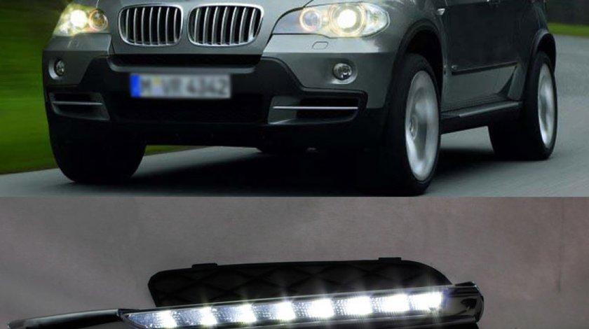 Lumini de zi DRL TFL BMX X5 E70 cu led