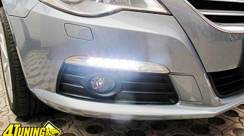 Lumini de zi DRL TFL VW Passat CC cu semnalizare OEM