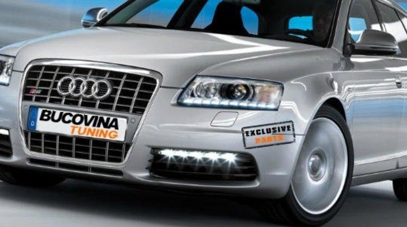 LUMINI DE ZI LED AUDI A6 / S6 4F (2005-2011) ORIGINALE - 349 EURO !