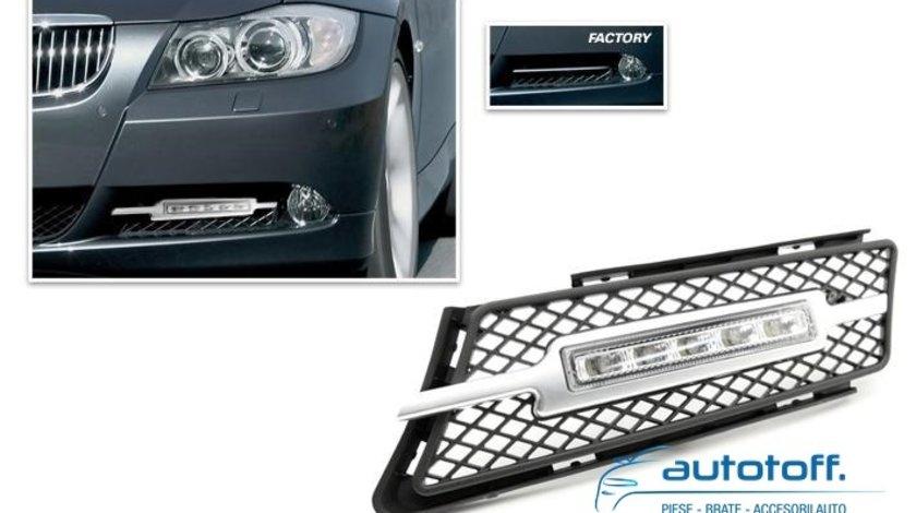 Lumini de zi LED BMW seria 3 E90 (2005-2007)