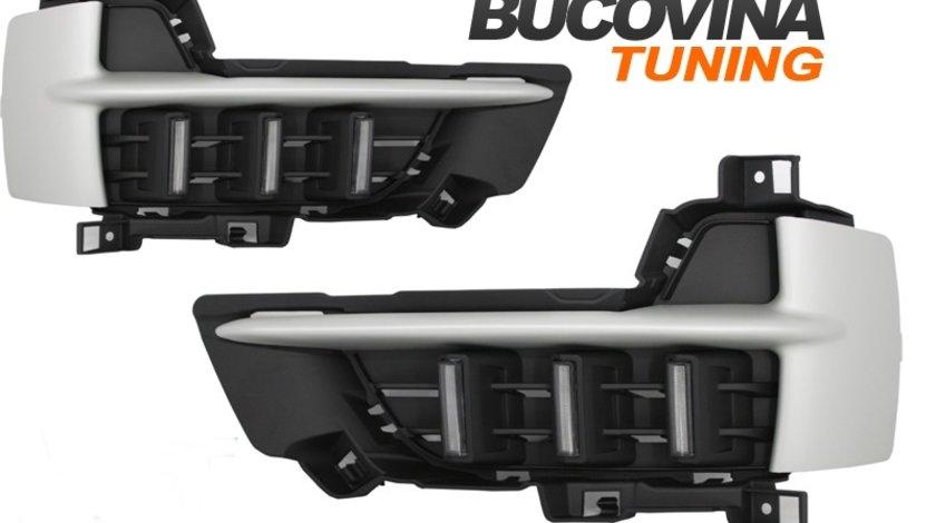 LUMINI DE ZI LED CU SEMNALIZARE DEDICATE BMW X5 F15 (DUPA-2013)