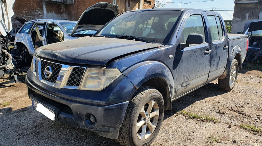 Lumini de zi Nissan Navara 2008 pick up 2.5 dci YD25DDTi