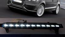 Lumini de zi si semnalizari cu led Audi Q7 W12 Ori...