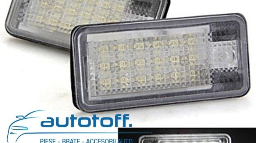Lumini LED numar inmatriculare AUDI A4 B7