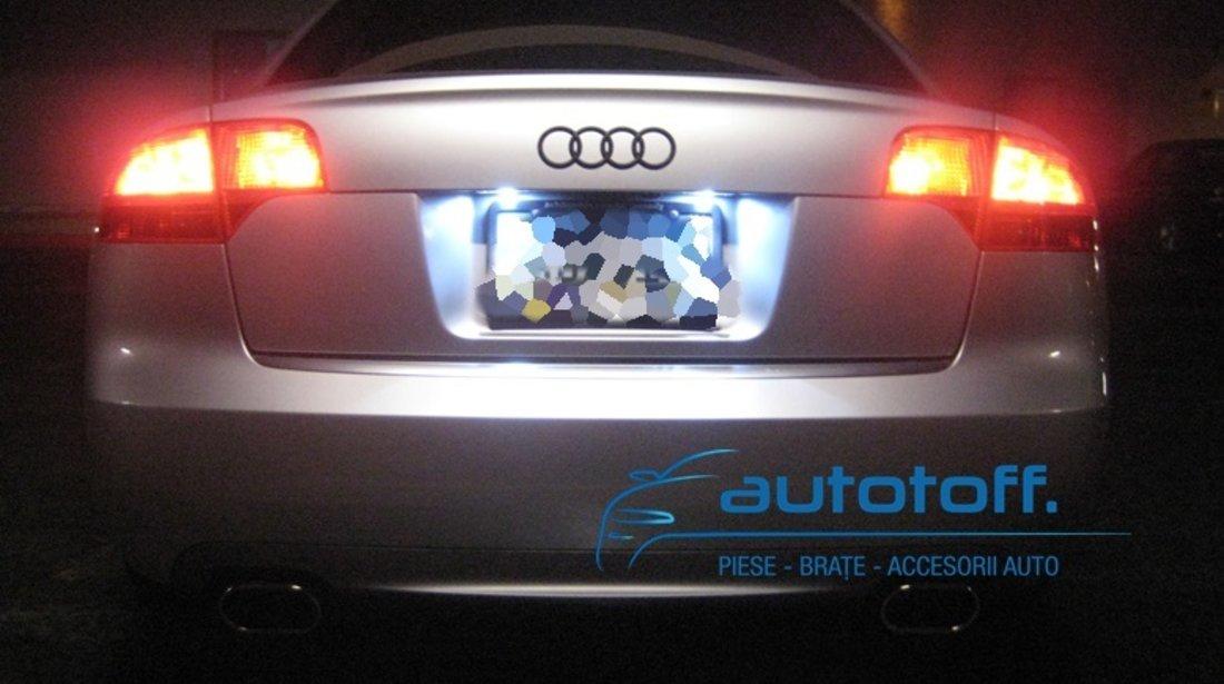 Lumini LED numar inmatriculare AUDI