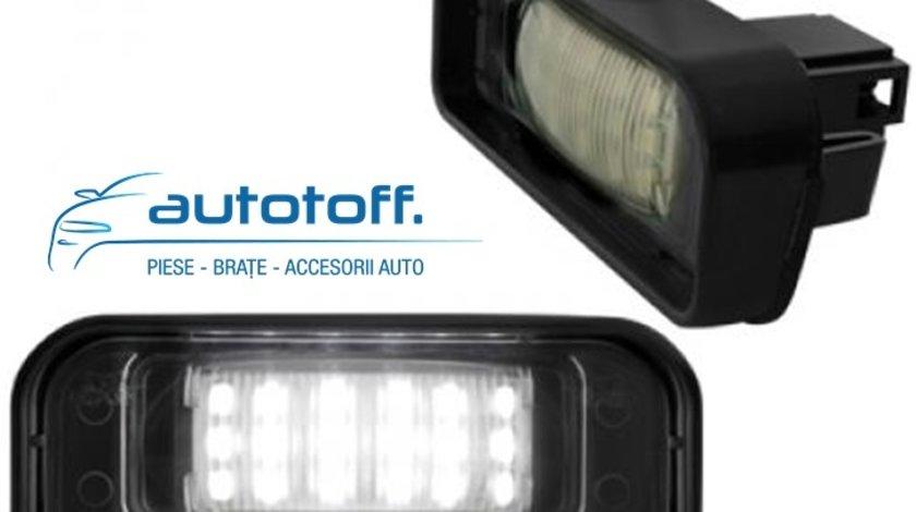 Lumini LED numar inmatriculare Mercedes W220