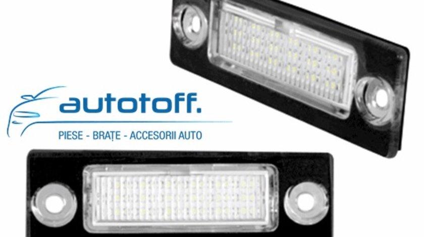 Lumini LED numar inmatriculare VW