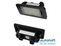 Lumini LED placuta numar inmatriculare AUDI A4 B7 (2004-2007)