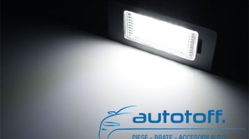 Lumini LED placuta numar inmatriculare BMW SERIA 5 E39 - E60, E61