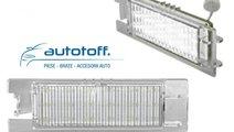 Lumini LED placuta numar inmatriculare OPEL