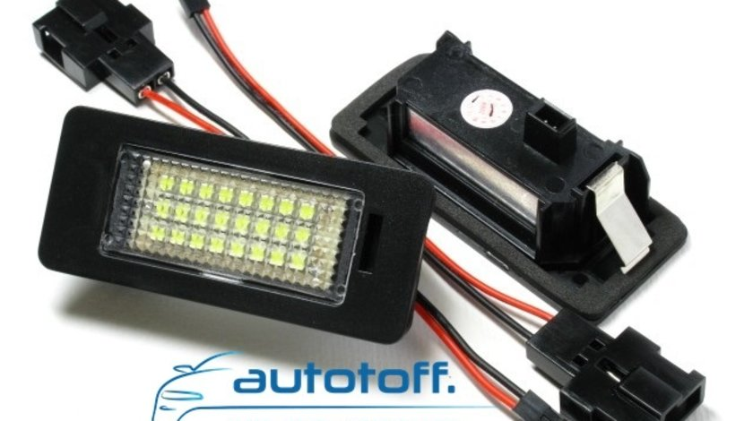 Lumini LED placute inmatriculare BMW E90