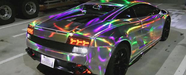 Luminite peste luminite: Cum se tuneaza un Lamborghini in Japonia