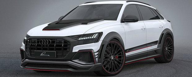 Lumma Design a luat in colimator noul Q8. Pachetul nemtilor pentru cel mai luxos SUV de la AUDI