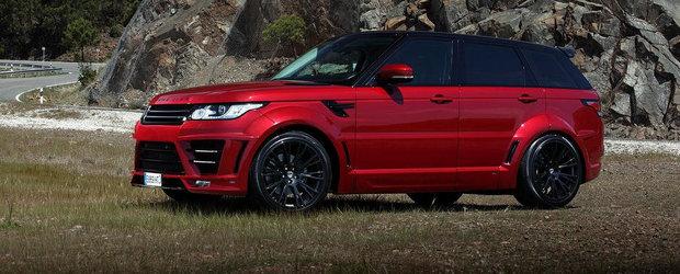 Lumma Design accentueaza caracterul sportiv al noului Range Rover Sport