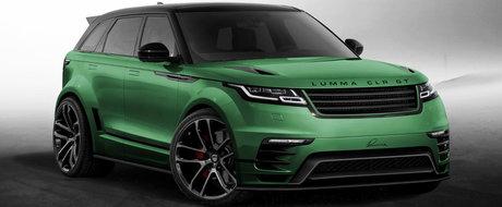 Lumma Design tuneaza noul Range Rover Velar inainte sa apara pe piata