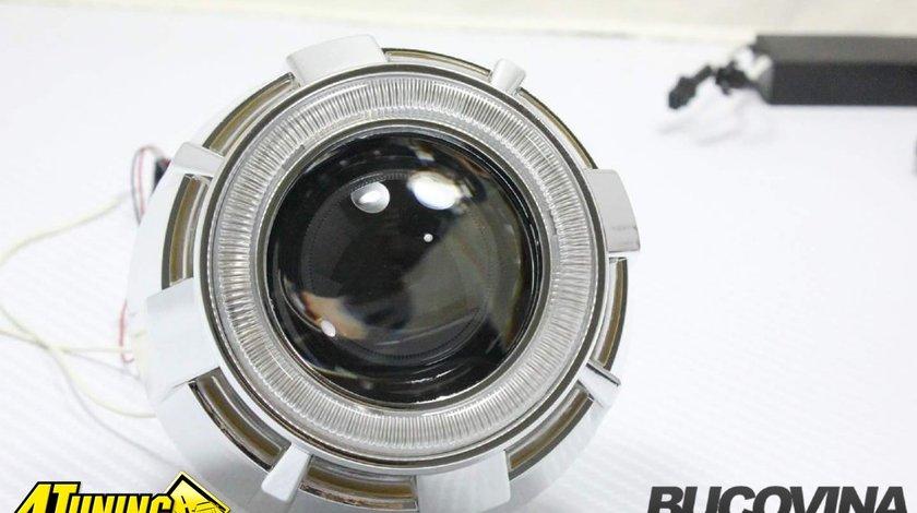 Lupe Bi Xenon cu Angel eyes LED - 400 lei