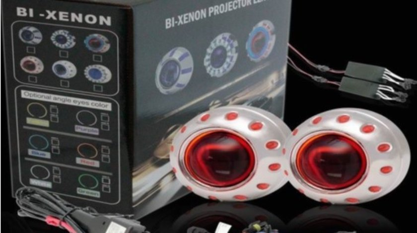 Lupe Bi-xenon Devil Eyes RED 2.5 inch 001R VistaCar