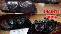 LUPE BIXENON BMW E46 CU ORNAMENTE