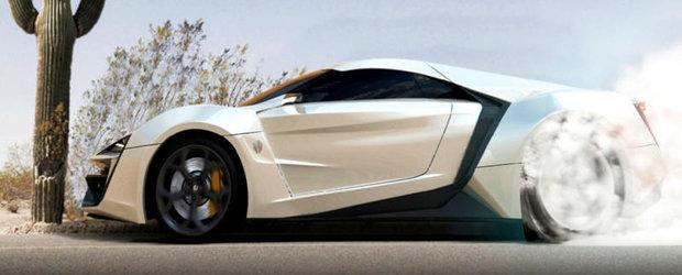 LykanHypersport, primul supercar libanez, debuteaza la Salonul Auto Qatar 2013