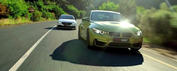M3 Sedan si C63 AMG S ne ofera un nou duel din seria BMW vs. Mercedes