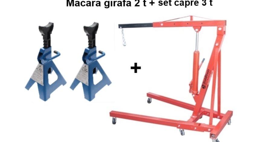 Macara 2 t + set capre 3 t (H400+SH303)