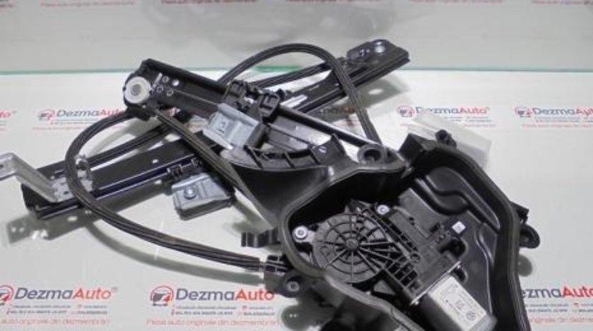 Macara cu motoras dreapta fata 6J3837402F, Seat Ibiza 5