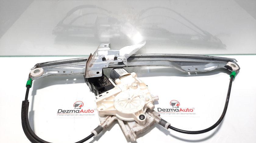 Macara cu motoras dreapta fata, Peugeot 407 [Fabr 2004-2010] 96448393480 (id:441919)