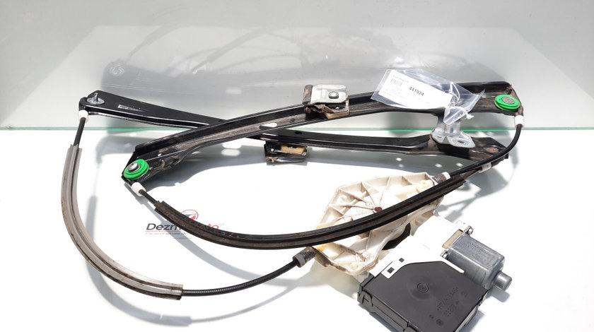 Macara cu motoras dreapta fata, Vw Golf 5 (1K1) [Fabr 2004-2008] (id:441924)