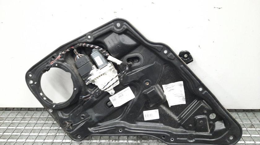 Macara cu motoras dreapta spate, cod 5N0839462A, 5N0959704F, Vw Tiguan (5N) (id:456038)