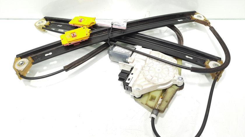 Macara cu motoras stanga fata, cod 4F0837461D, Audi A6 Allroad (4FH, C6) (idi:466786)