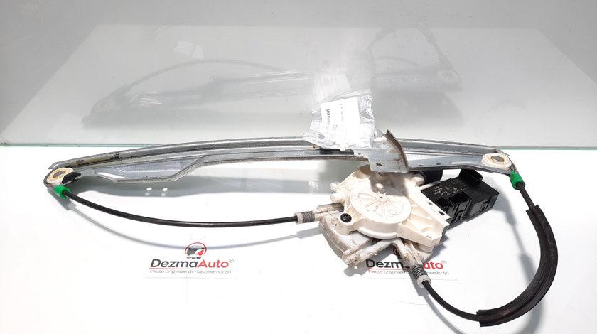 Macara cu motoras stanga fata, Peugeot 407 SW [Fabr 2004-2010] 9644893580, 9646594580 (id:441922)
