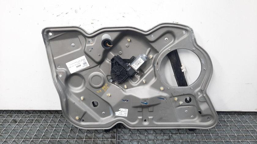 Macara cu motoras stanga fata, Skoda Octavia 2 Combi (1Z5) (id:460836)