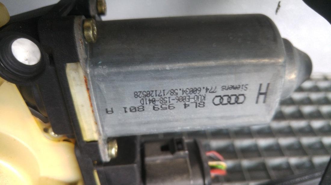 Macara cu motoras stanga spate audi a3 8l 8l4959801a