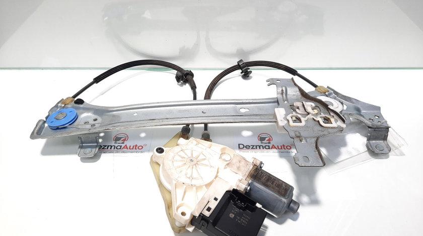 Macara cu motoras stanga spate, Renault Megane 3 Sedan [Fabr 2009-2015] 827210003, 0130822330 (id:442041)