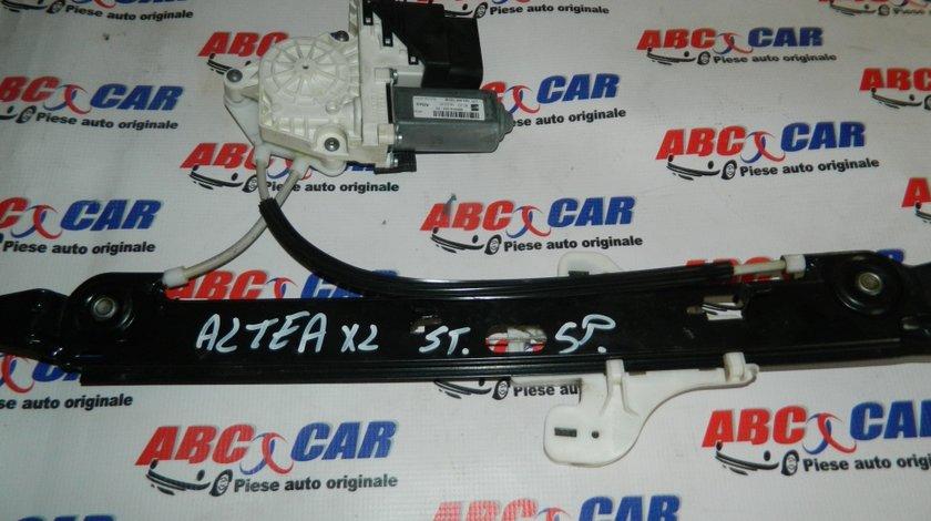 Macara cu motoras usa stanga spate Seat Altea XL cod: 1K0959703M model 2008