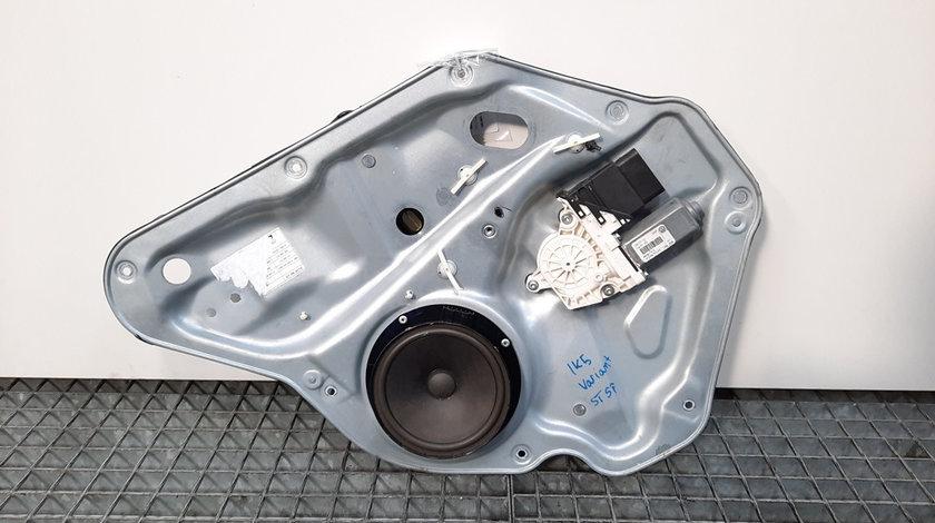 Macara cu motoras usa stanga spate, Volkswagen Golf 5 Variant (1K5) [Fabr 2007-2009] 1K9839755A (id:429765)