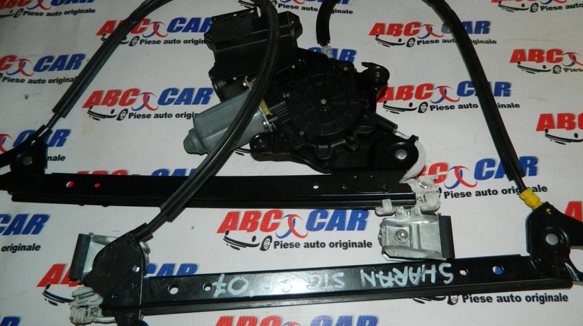 Macara cu motoras usa stanga spate VW Sharan 7M cod: 1H4959821B model 2007