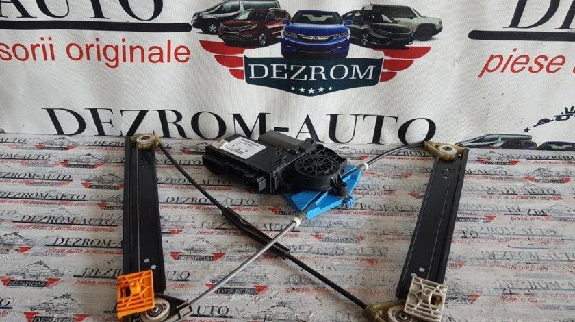 Macara electrica cu motoras geam usa stanga spate VW Touareg 7L 7l0959795a