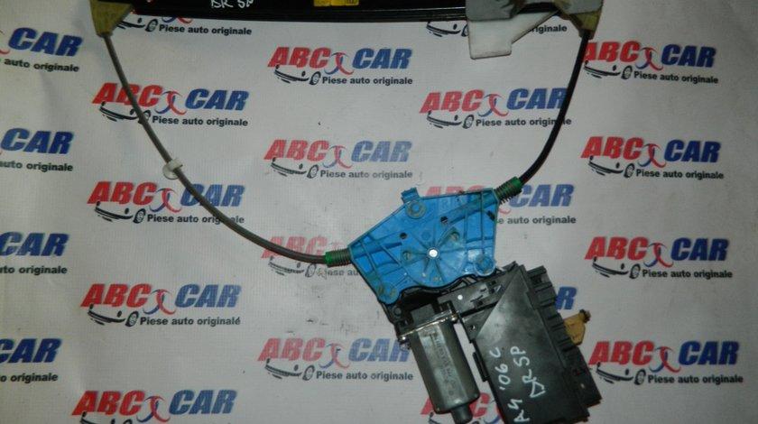 Macara electrica cu motoras usa dreapta spate Audi A4 B6 cod: 8E0839462C / 8E0959802E model 2006