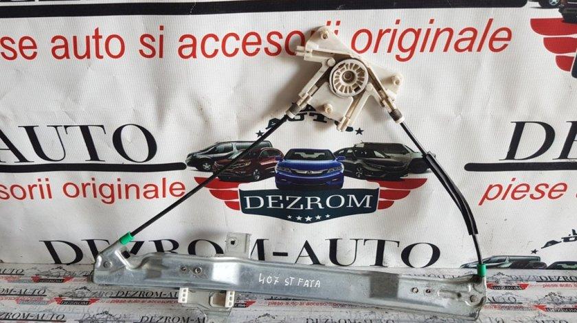 Macara electrica geam usa stanga fata Peugeot 407 9644893580