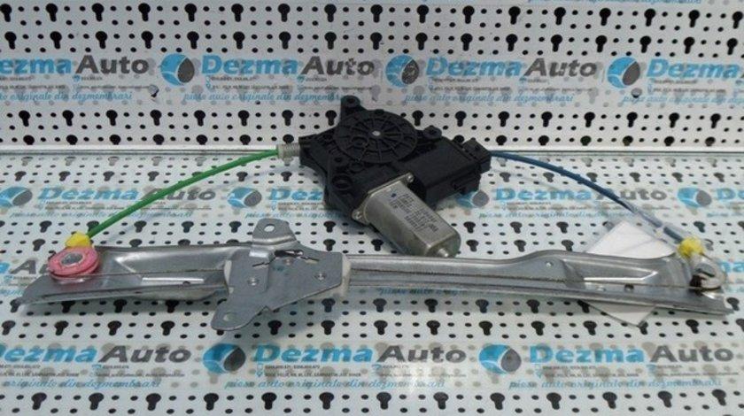 Macara geam dreapta fata electrica cu motoras, 3J0454F, Opel Corsa D, (id:182954)