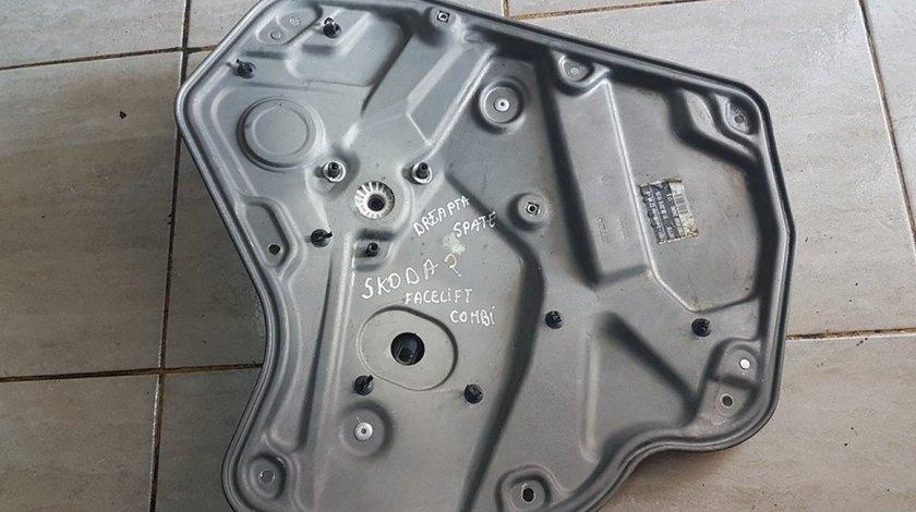 Macara geam electric usa dreapta spate 1z0839655f skoda octavia II combi