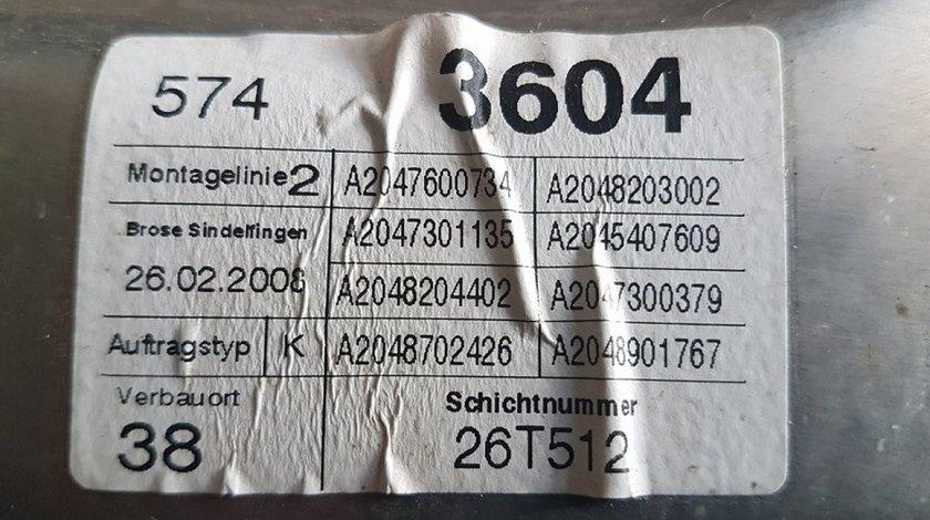 Macara geam electric usa stanga spate a2047300379 mercedes c-classe w204