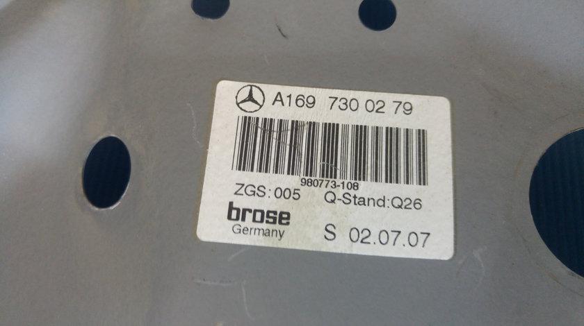 Macara geam manual dreapta spate mercedes a-class w169 a1697300279