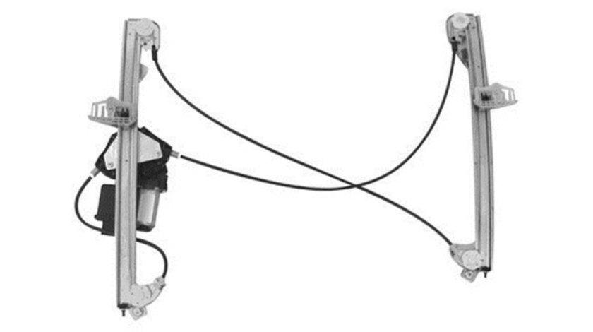 Macara geam Renault Megane 2 (M) 11.2002-2008 usa Fata partea Stanga; FARA functie de confort, electrica cu motoras, modele cu 3 usi 8200325138 Kft Auto
