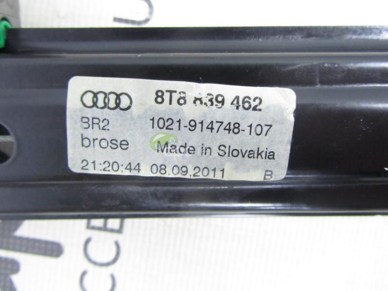 Macara Geam Spate Dreapta Audi A5 Sportback 8T8839462
