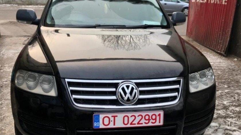 Macara geam stanga fata VW Touareg 7L 2007 HATCHBACK SUV 2.5