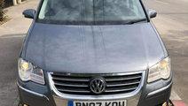 Macara geam stanga spate Volkswagen Touran 2007 Mo...