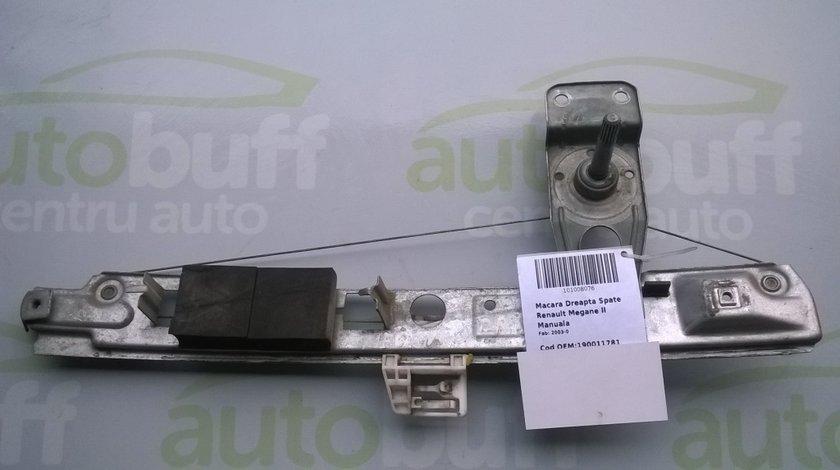 Macara Manuala Dreapta Spate Renault Megane II